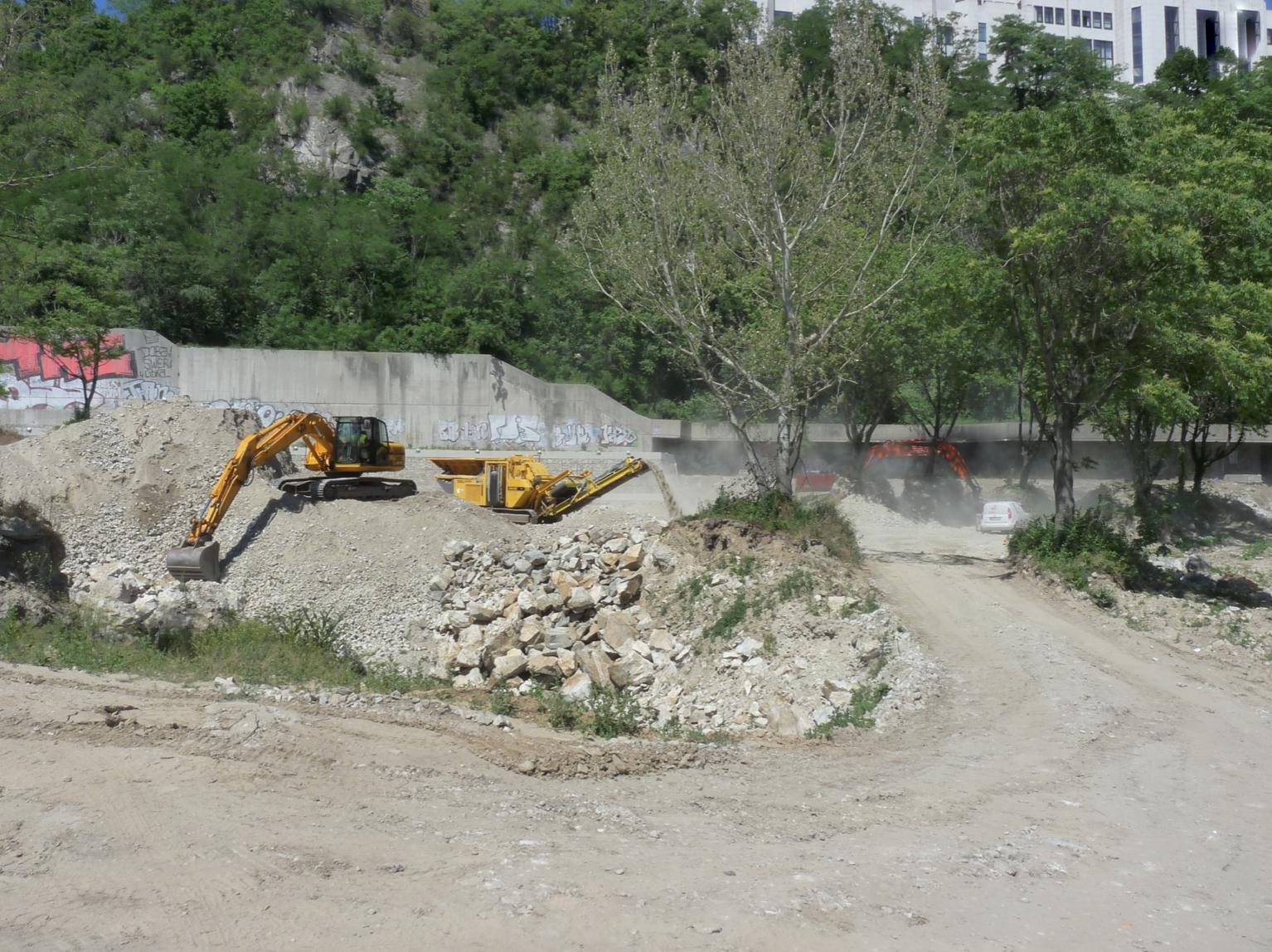 Recyklácia betónov pre ďalšie využitie, Bratislava